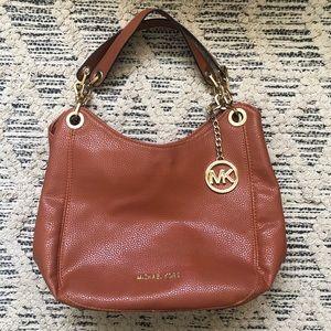 Michael Kors Fulton Orange Bag